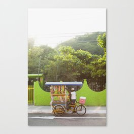 Mexico Street Vendor Canvas Print