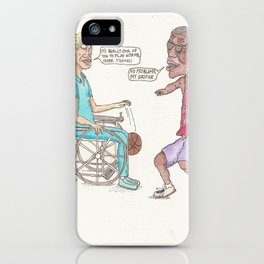 Pick-Up Game iPhone Case