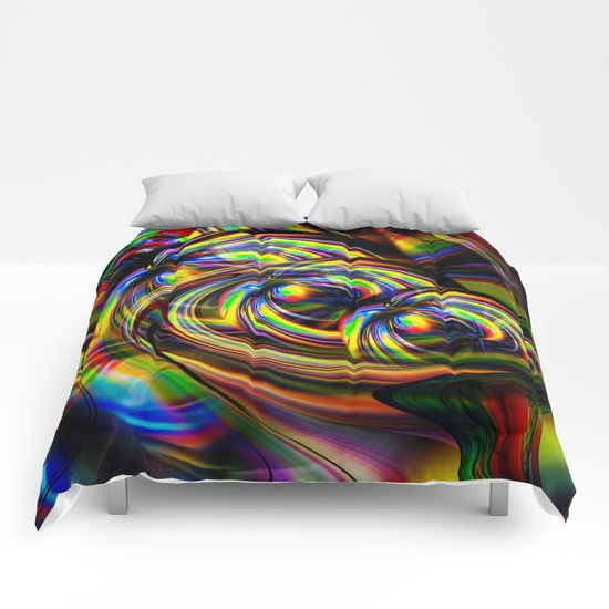 Abstract Perfection 53 Comforters