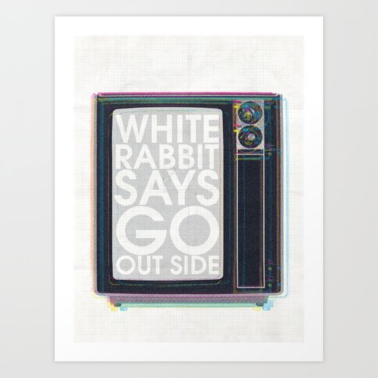Go Out Side Art Print
