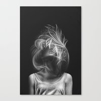 wind Canvas Prints featuring Wind by Illustratic