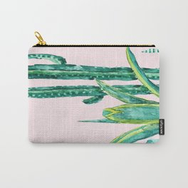 cactus jungle watercolor painting 2 Carry-All Pouch