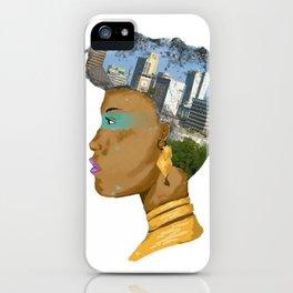 Nairobian Girl iPhone Case