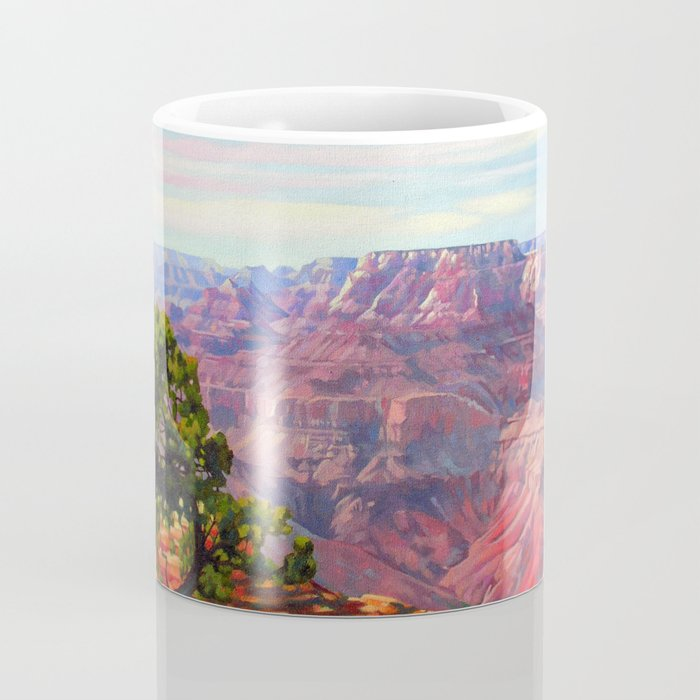 Grandview Grand Canyon by Amanda Martinson Coffee Mug