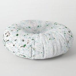 white&black marble mix Floor Pillow