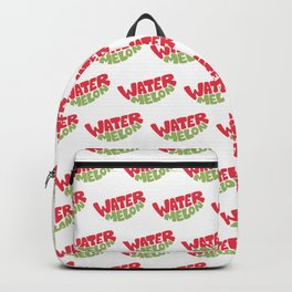 Watermelon Typography Backpack