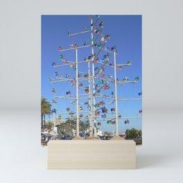 Windmill Roundabout Benalmadena Mini Art Print