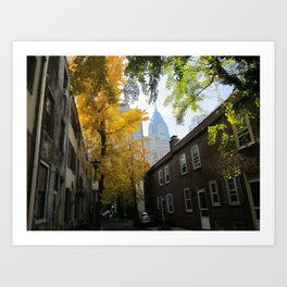 Philadelphia, PA Art Print