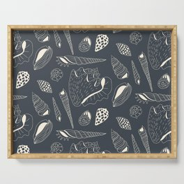 Sea shells pattern Serving Tray