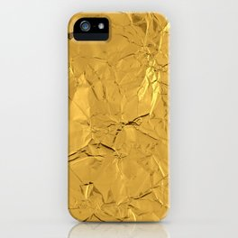 Roll'd Gold iPhone Case