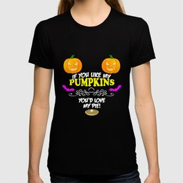 Pumpkins and Pie T-shirt