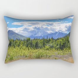 The Mountains Are Calling . . . II Rectangular Pillow