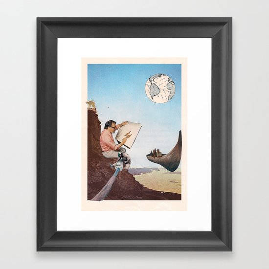 Mountain Man Framed Art Print