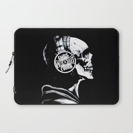 Ends With A Bullet  Laptop Sleeve