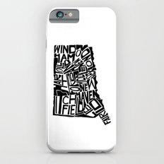 Typographic Connecticut Slim Case iPhone 6s