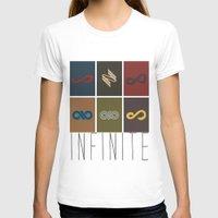 infinite T-shirts featuring Infinite by Sara Eshak