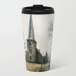 Abandoned Rural Church Travel Mug