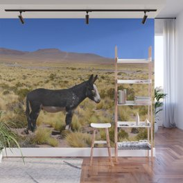 horse by Bruna Fiscuk Wall Mural