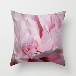 Peony photo Throw Pillow