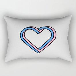 Love 3D Rectangular Pillow