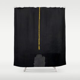 A Light In The Void Shower Curtain