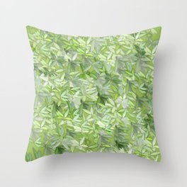 floral flower pattern Throw Pillow
