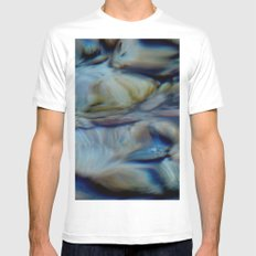 transparency2 Mens Fitted Tee White MEDIUM