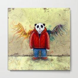 Be Panda Metal Print