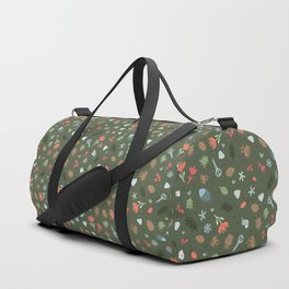 Ethnic Yakutian pattern Duffle Bag