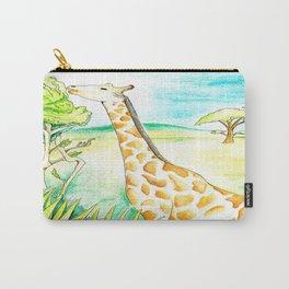 Another Damn Giraffe  Carry-All Pouch