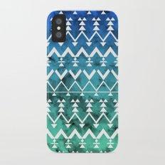 Triangle Tribal iPhone X Slim Case