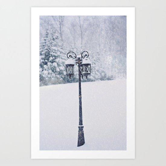 Welcome to Narnia Art Print