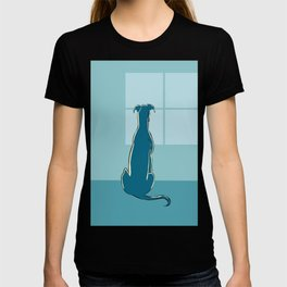 Waiting Greyhound T-shirt