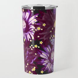 Exotic Flowers  Travel Mug