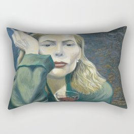 Joni - Both Sides Now - Mitchell Rectangular Pillow