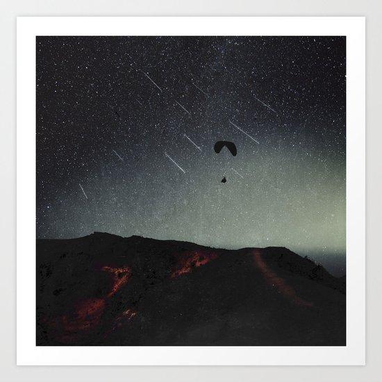 night of wonders Art Print