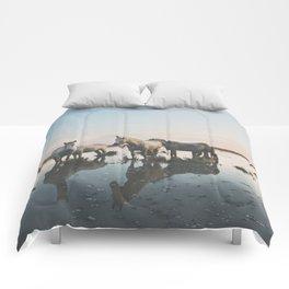 Camargue Horse II Comforters