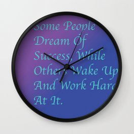 Misty Copeland Quote Wall Clock