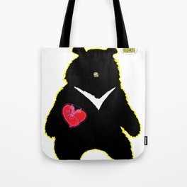Bear with (V)ictory Tote Bag