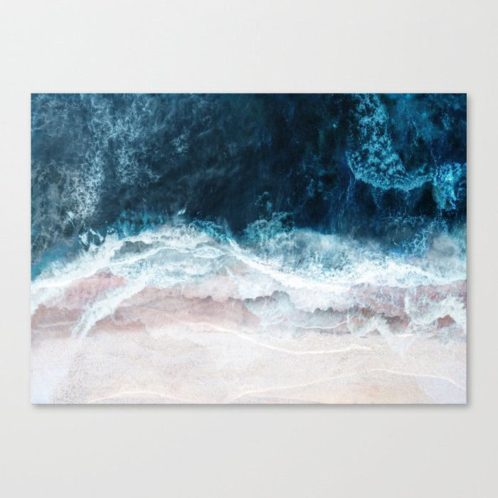 Blue Sea II Canvas Print