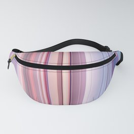 Abstract Vertical Modern mixed stripes v2 Fanny Pack