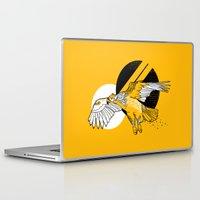 hawk Laptop & iPad Skins featuring Hawk by Randyotter