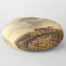 Gustave Moreau - Poney Floor Pillow