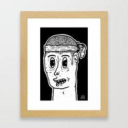 Mister B Framed Art Print