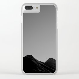 uncensored mountain Clear iPhone Case