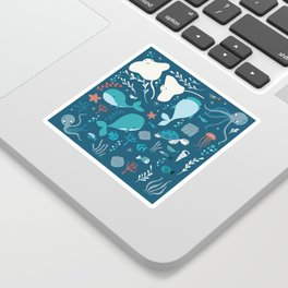 Sea creatures 004 Sticker