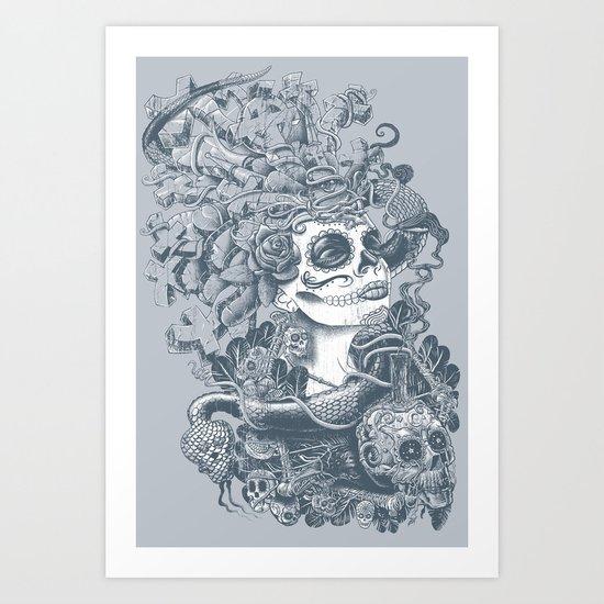 Do of the Dead Art Print