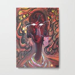 Massai woman Metal Print