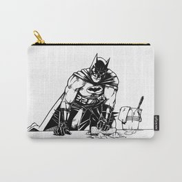 Cleaning up Gotham City Carry-All Pouch