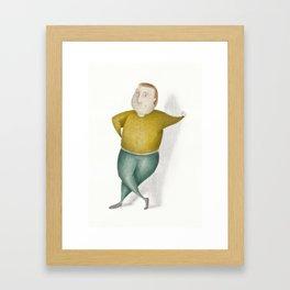 Amstermannetje #3 Framed Art Print